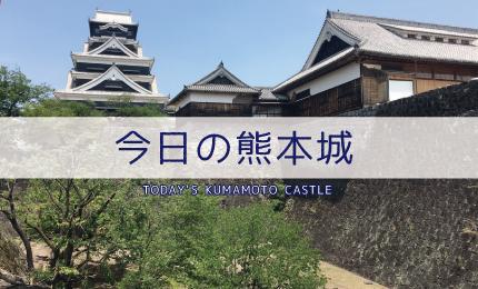 現在の熊本城の様子
